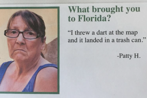 10 Hilarious Reasons Why People Came To Florida In A Fake Airbnb Guest Book