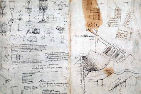 The British Library Has Fully Digitized 570 Pages of Leonardo da Vincis Visionary Notebooks